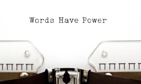 ワープロとWord have powerの文字